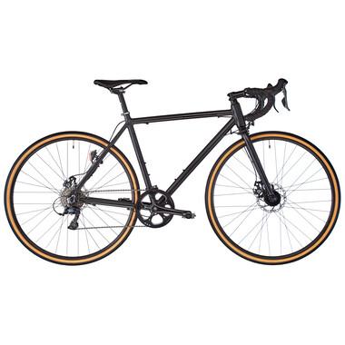 Vélo de Ville FIXIE INC. FLOATER RACE STREET DISC 8V Noir 2020